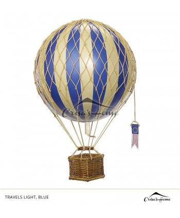 Macheta balon cu aer, Travels Light, Blue