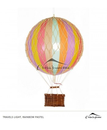 Macheta balon cu aer, Travels Light, Rainbow Pastel