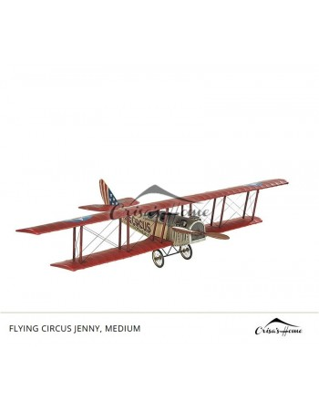 Macheta avion Flying Circus Jenny, Medium