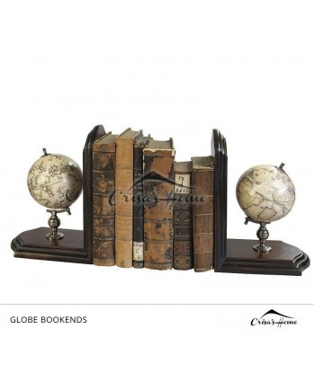 Globe Bookends, Authentic Models