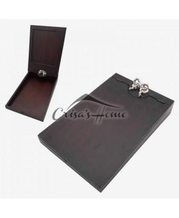 Accesoriu scris cutie lemn