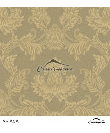 Tapet Ariana Clara Pluma Antique Gold 35283