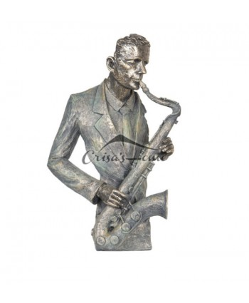 "Decoratiune ""Saxofonist"""